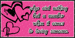 Age ain't nothing but a number when it comes to loving someone