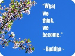 Buddha - What we think, we become