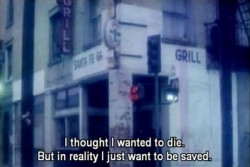 I thought I wanted to die. But in reality I just wanted to be saved
