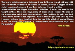 There are  infinite numbers between 0 and 1