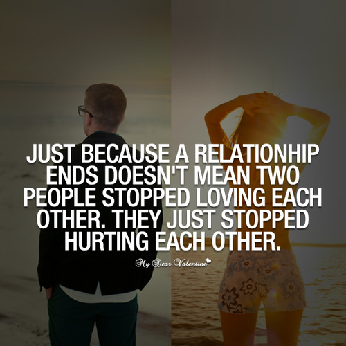 love relationships just break what means when work