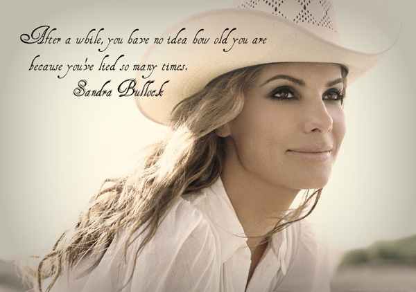 Sandra Bullock quote life is a series