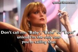 Don't-call-me-Baby-