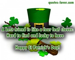 A-best-friend-is-like-a-four-leaf-clover
