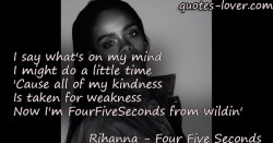 Now-I'm-FourFiveSeconds-from-wildin
