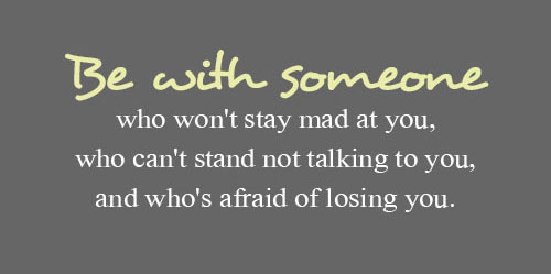 Meant To Be With OPEN AND Scared Quotes About Losing Someone