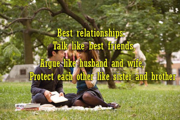 best relationships talk like best friends argue like