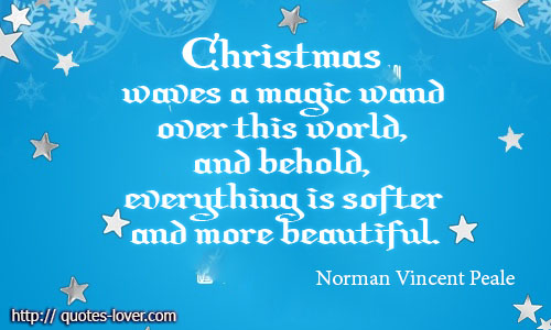 Magical Christmas Quotes