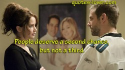People deserve a second chance but not a third