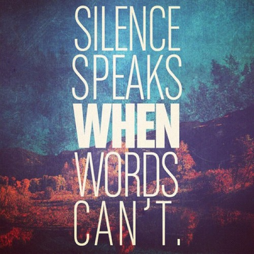 Silence Quotes About Love. QuotesGram