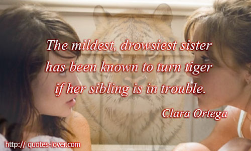 ... Picture Quotes , Sisters Picture Quotes , Sisters in trouble Picture