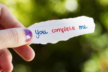 you complete me quotes lover