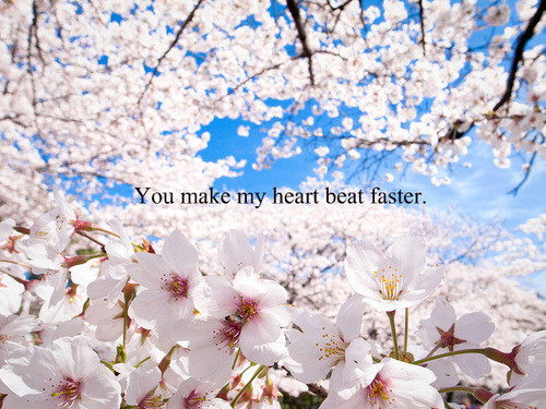 he Makes my Heart Beat Quotes You Make my Heart Beat Faster