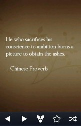 he who sacrifices his conscience to ambition burns a picture to obtain the ashes