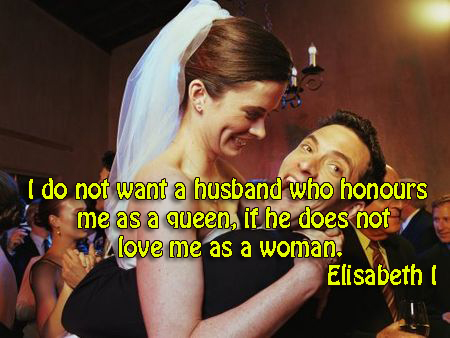 I do not want a husband who honours me as a queen, if doesn't love me as a woman.