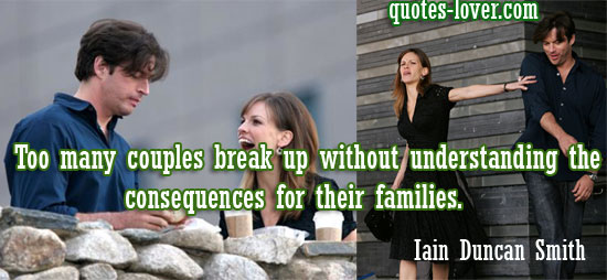 Too many couples break up without understanding the consequences for their families.