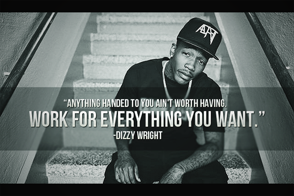 Anything handed to you ain't worth having. Work for everything you want .