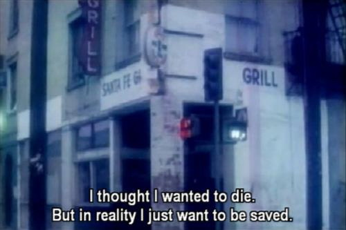 I thought I wanted to die. But in reality I just wanted to be saved.