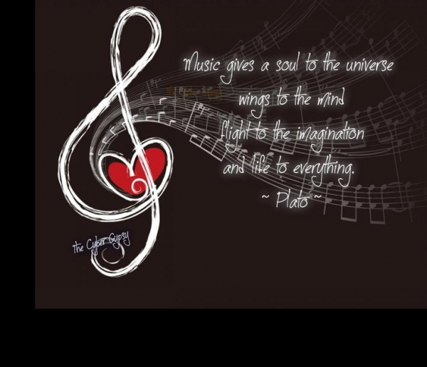 Music gives a soul to the universe, wings to the mind, flight to the imagination and life to everything.
