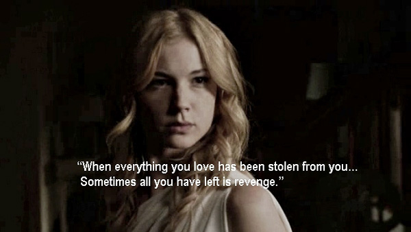 When everything you love has been stolen from you. Sometimes all you have left is revenge.