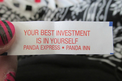 Your best investment is in yourself.