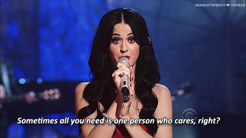 Sometimes all you need is one person who cares, right?