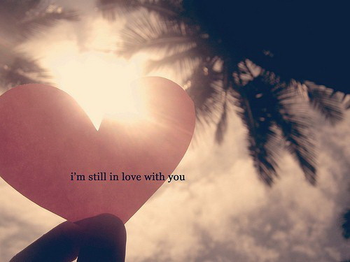I'm still in love with you.