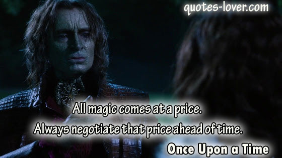 All magic comes at a price.  Always negotiate that price ahead of time.