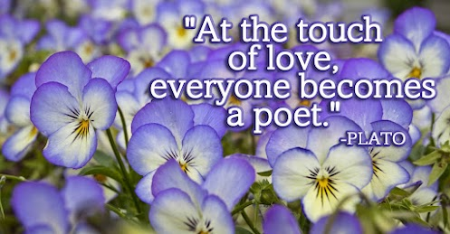 At the touch of love, everyone becomes a poet.