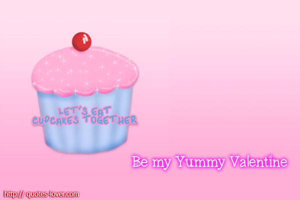 Be my Yummy Valentine
