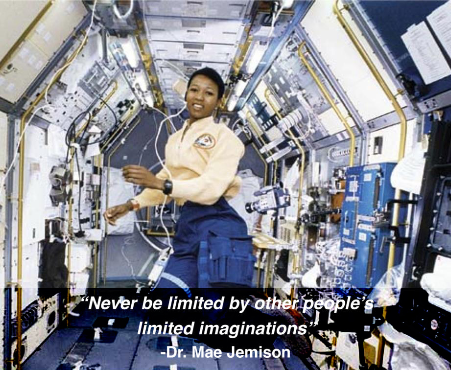 Never be limited by other people's limited imaginations