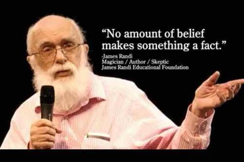 No amount of belief makes something a fact