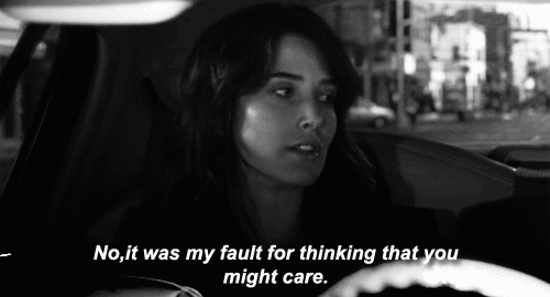 No, it was my fault for thinking that you might care