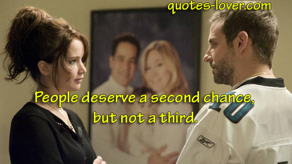 People deserve a second chance, but not a third.