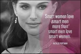 Smart women love smart men more than smart men love smart women