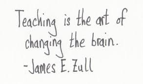Teaching is the art of changing the brain