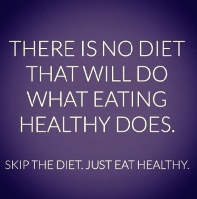 There is no diet that will do what eating healthy does. Skip the diet. Just eat healthy