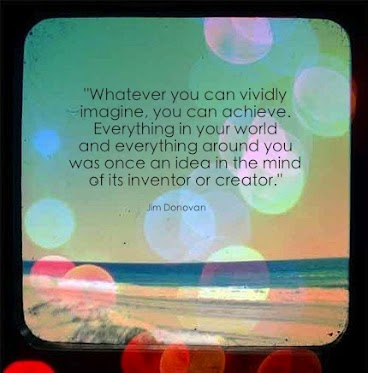 Whatever you can vividly imagine, you can achieve. Everything in your world and everything around you was once an idea in the mind of its inventor
