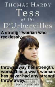 A strong woman who recklessly throws away her strength worse than a weak woman has had never any strength throw away